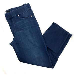 Liverpool jeans high rise pull on capris